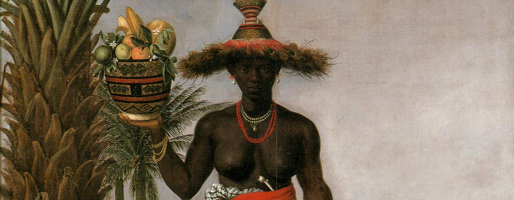 Albert Eckhout, African Woman and Child, 1641, oil on canvas, National Museum of Denmark.